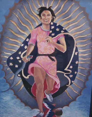 Yolanda Lopez's Guadalupe